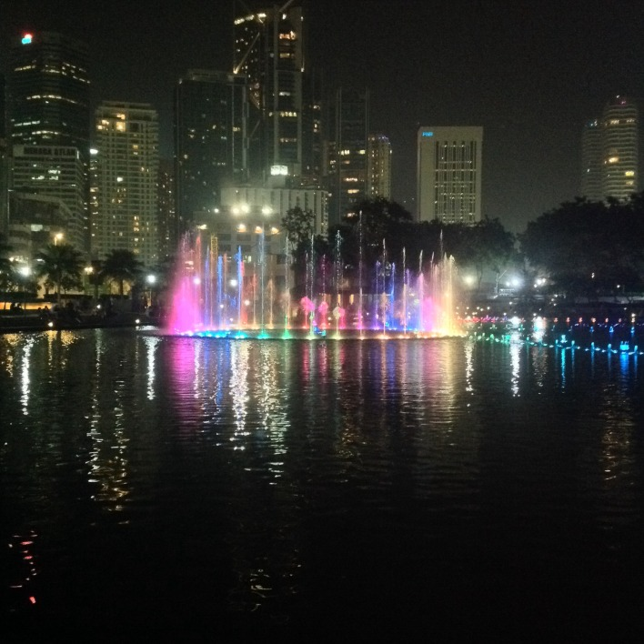 KLCC Big Fountain