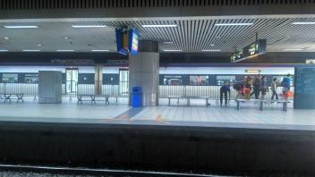 Peron Stasiun KTM KL Sentral