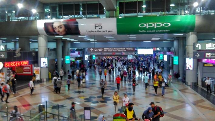KL Sentral Integrated Hub Railway Station