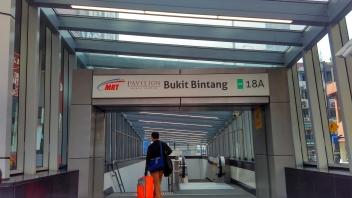 Pintu Masuk MRT