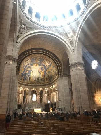 Sacre-cour (inside)